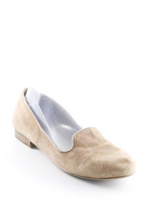 Tamaris faltbare Ballerinas camel Casual-Look