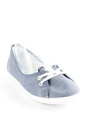 Tamaris faltbare Ballerinas graublau sportlicher Stil