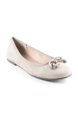 Tamaris Ballerines pliables gris clair style simple