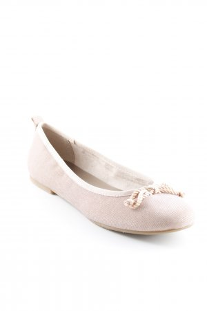 Tamaris Bailarinas plegables rosa claro-rosa brillante
