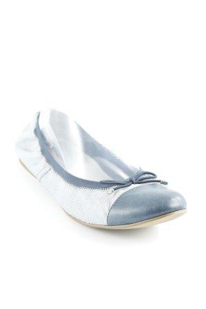 Tamaris faltbare Ballerinas kornblumenblau Casual-Look