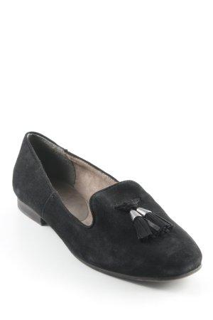 Tamaris faltbare Ballerinas schwarz Elegant
