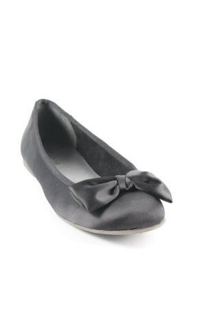 Tamaris Ballerines pliables noir style romantique