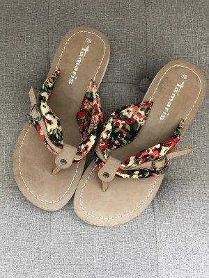 Tamaris Beach Sandals multicolored
