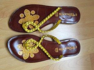 Tamaris Mules yellow