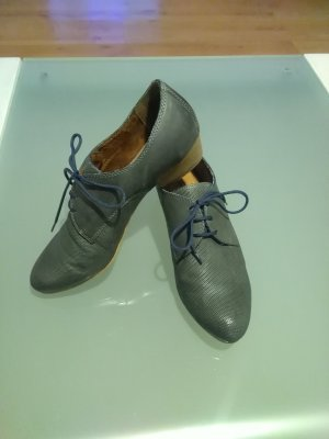 Tamaris Zapatos brogue azul