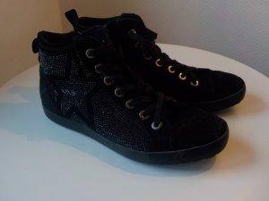 Tamaris Low Shoes black leather