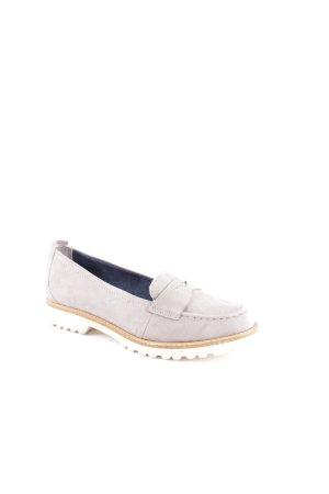 Tamaris Flats gris claro-beige look Street-Style