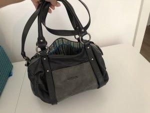 Tamaris Handtasche in dunkelblau