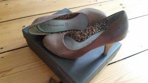 Tamaris Heels in Taupe