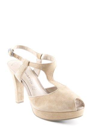 Tamaris High Heel Sandaletten beige Party-Look