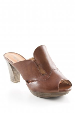 Tamaris High Heel Sandaletten braun Elegant