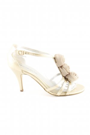 Tamaris High Heel Sandaletten goldfarben Elegant