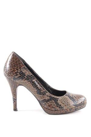 Tamaris High Heels Allover-Druck extravaganter Stil