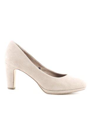 Tamaris High Heels beige Casual-Look
