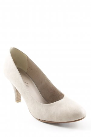 Tamaris High Heels beige-creme Business-Look