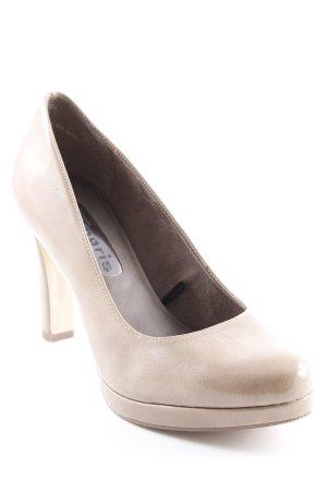 Tamaris High Heels beige-hellbraun Business-Look