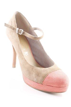 Tamaris High Heels beige-lachs klassischer Stil