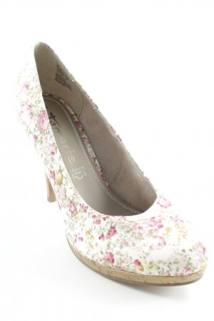 Tamaris High Heels Blumenmuster Romantik-Look