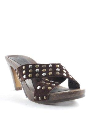 Tamaris High Heels braun-dunkelbraun Street-Fashion-Look