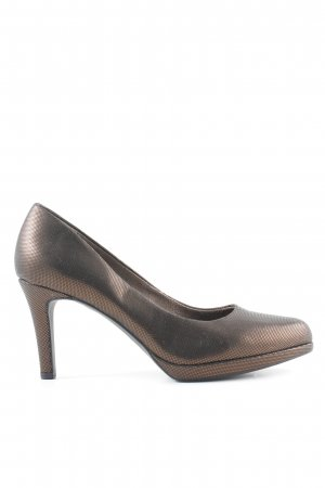 Tamaris High Heels bronzefarben Casual-Look