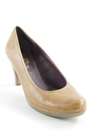 Tamaris High Heels camel Casual-Look