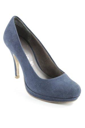 Tamaris High Heels dunkelblau-beige Elegant