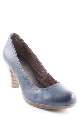 Tamaris High Heels dunkelblau Business-Look