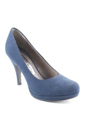 Tamaris Tacones altos azul oscuro estilo sencillo