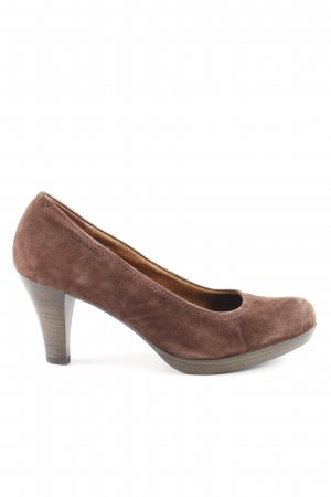 Tamaris High Heels dunkelbraun Casual-Look