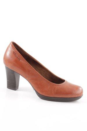 Tamaris High Heels hellorange Business-Look