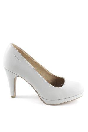 Tamaris High Heels hellgrau Business-Look