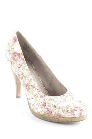 Tamaris High Heels florales Muster Casual-Look