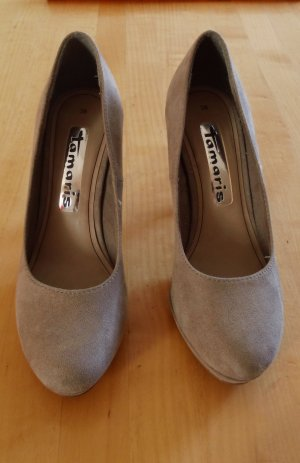Tamaris High Heels, Gr. 38, Stilettoabsatz Plateusohle