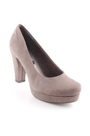 Tamaris High Heels graubraun Business-Look