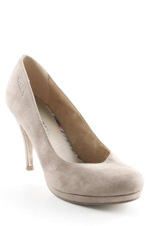 Tamaris High Heels graubraun schlichter Stil