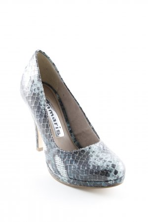 Tamaris High Heels mehrfarbig Reptil-Optik