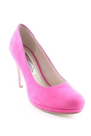 Tamaris High Heels pink Party-Look