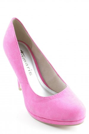 Tamaris Tacones altos rosa estilo fiesta