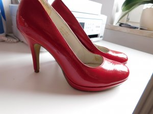 Tamaris High Heels Pumps  glänzend Rot