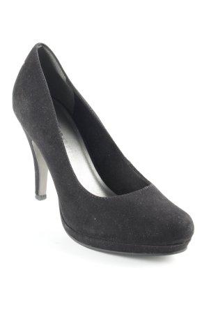 Tamaris Tacones altos negro elegante