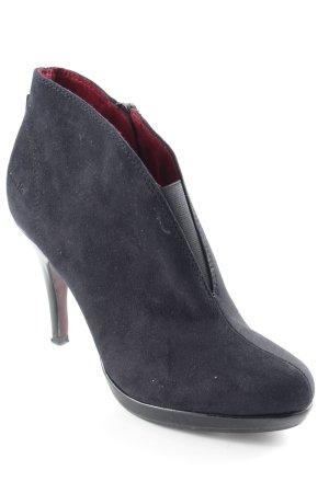 Tamaris High Heels schwarz-karminrot Business-Look