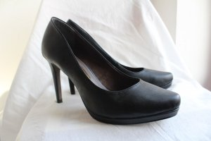 Tamaris High Heels, schwarz matt