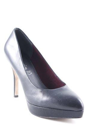 Tamaris High Heels schwarz schlichter Stil