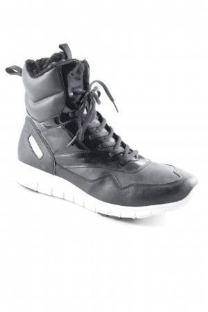 Tamaris High Top Sneaker schwarz Street-Fashion-Look