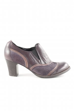 Tamaris Chaussure à talons carrés violet style mode des rues