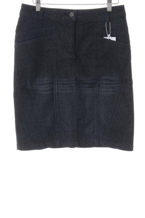 Tamaris Denim Skirt dark blue casual look
