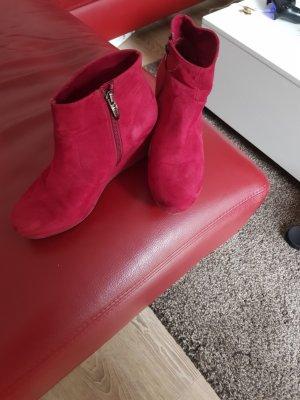 Tamaris Keil Ankle Boots Wildleder