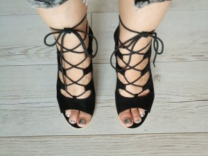Tamaris Wedge Sandals black synthetic