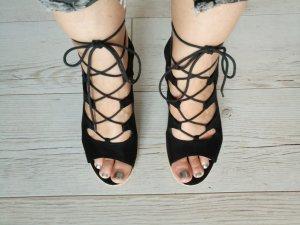 Tamaris Keil-Sandaletten, schwarz, 39